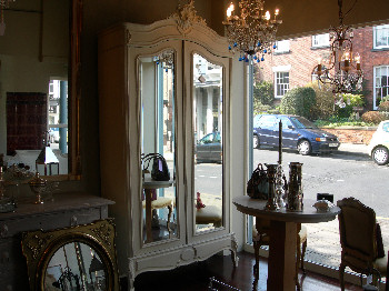 Altrincham Shop Interior Armoire in Window